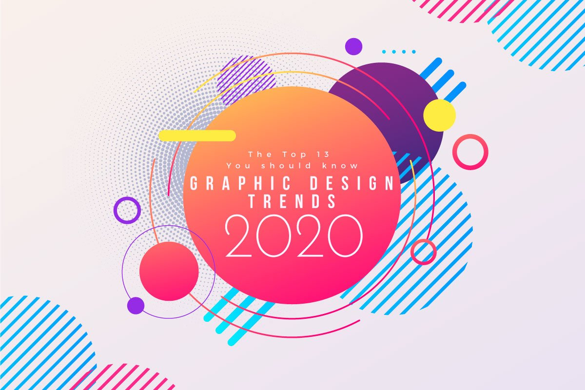 GRAPHIC DESIGN TRENDS 2020: THE TOP 13 YOU MUST KNOW