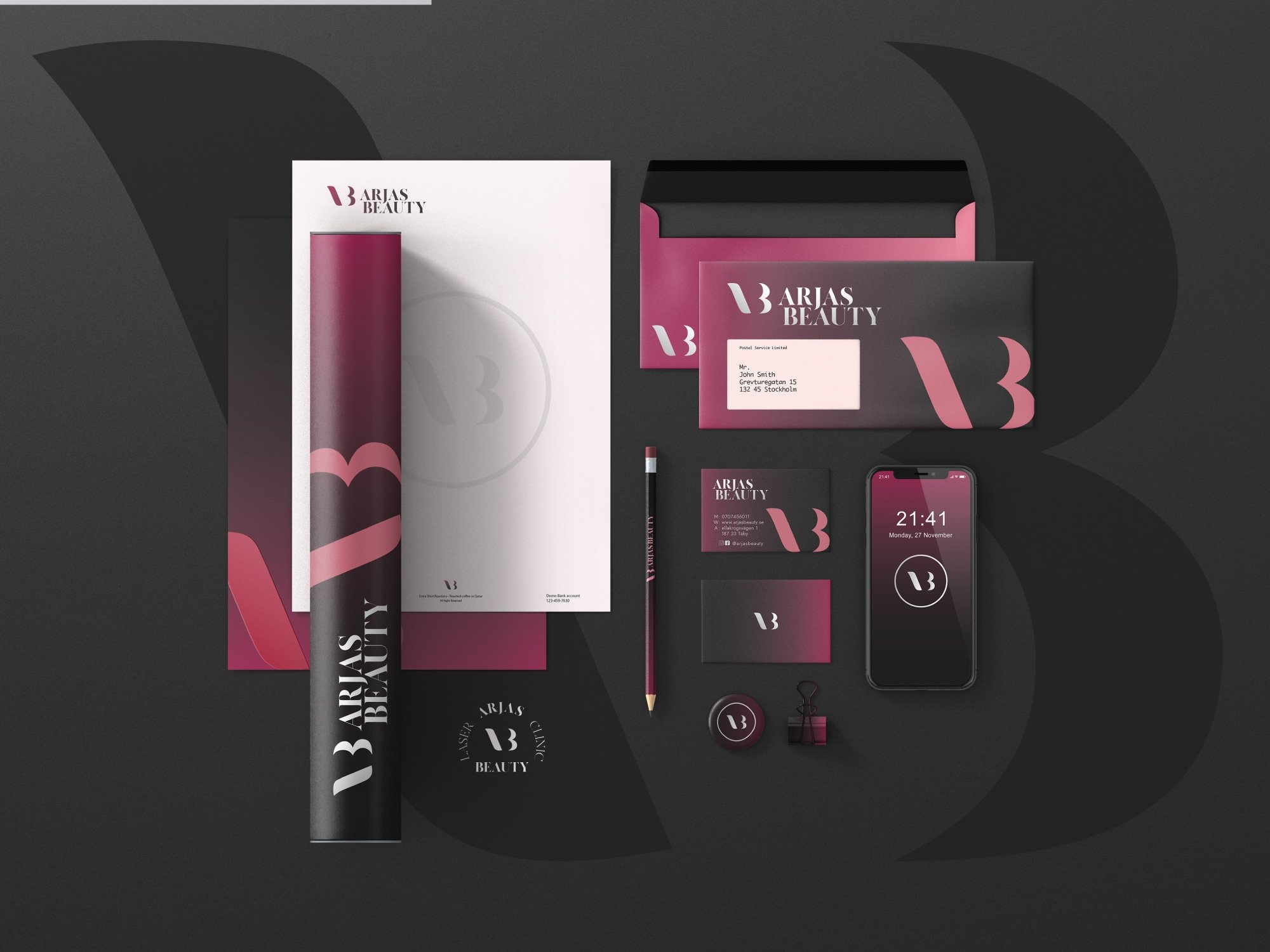 Arjas Beauty Branding - MJ Design Center
