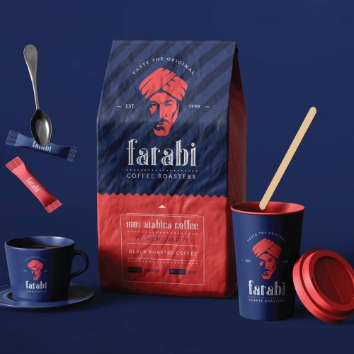 Farabi Coffee Branding - MJ Design Center